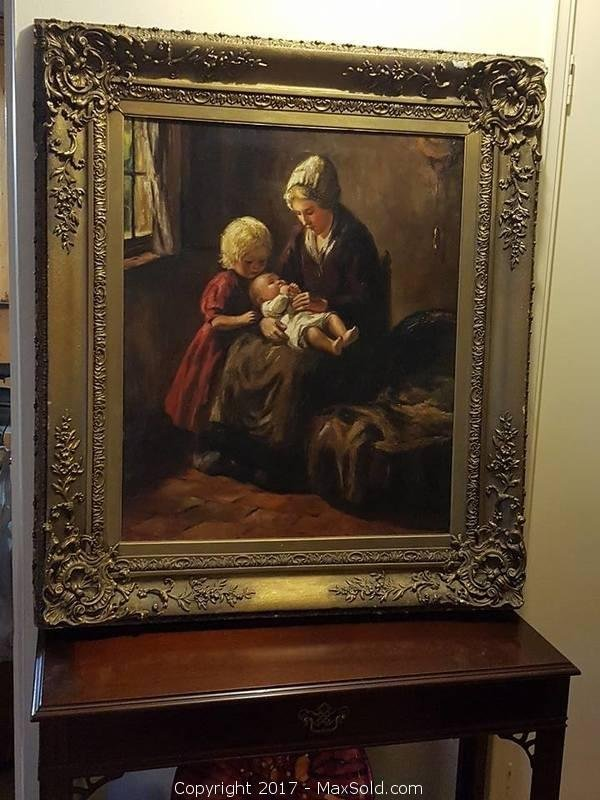 Original Oil signed Pothast