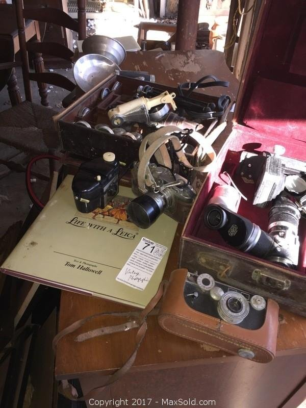 Vintage Photography Equipment