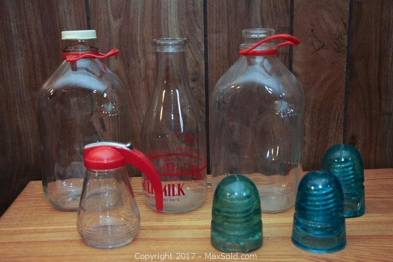 Dairy Bottles And Insulators A