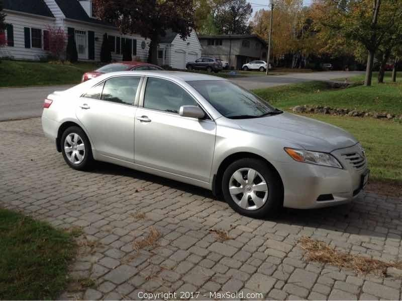 Car, 2009 Toyota Camry LE, Vin 4T1BE46K99U371346 Certified