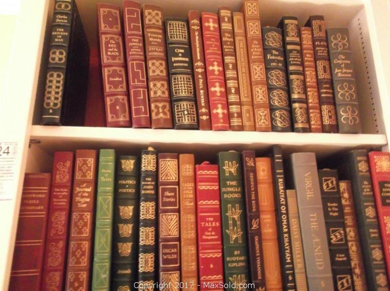 Easton Press Leather Bound Collectible Books