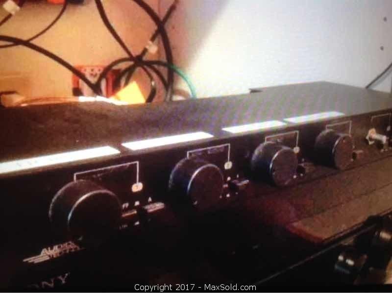 Audio Equipment And Speakers