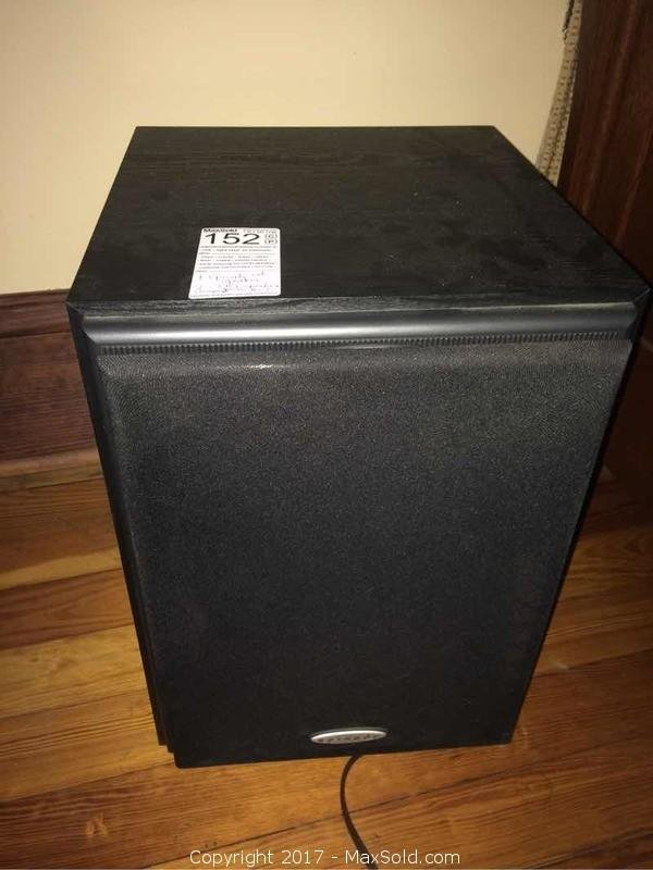 Episode Subwoofer and Six TBI Speakers and Amp