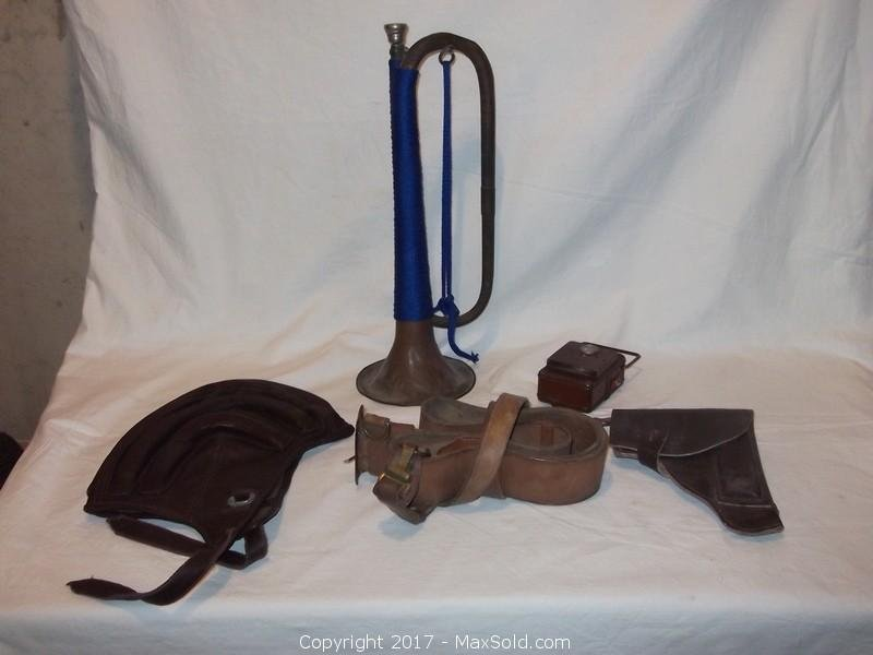 Lot of WWII military items