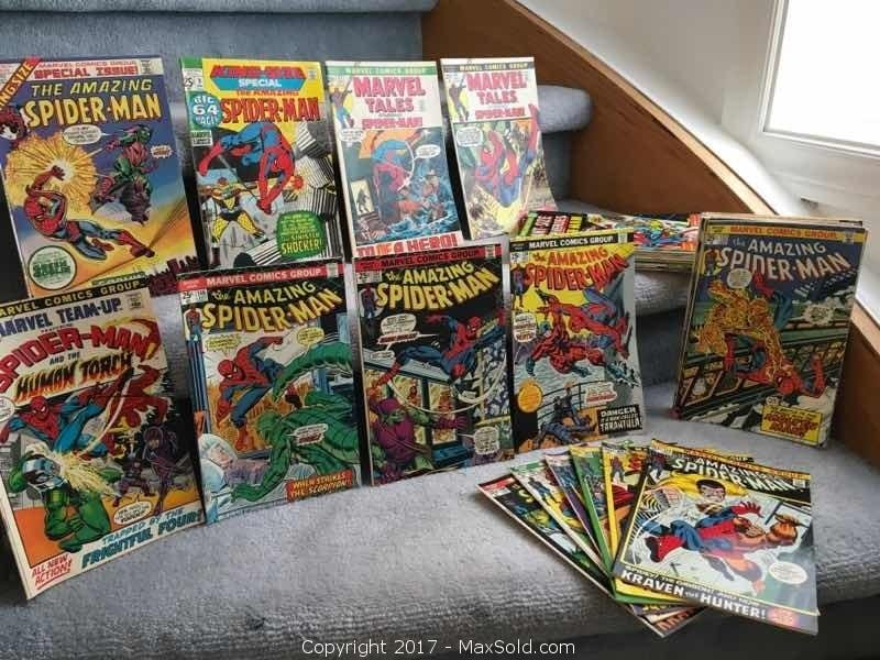 "Marvel's ""The Amazing Spider Man"" Comics"