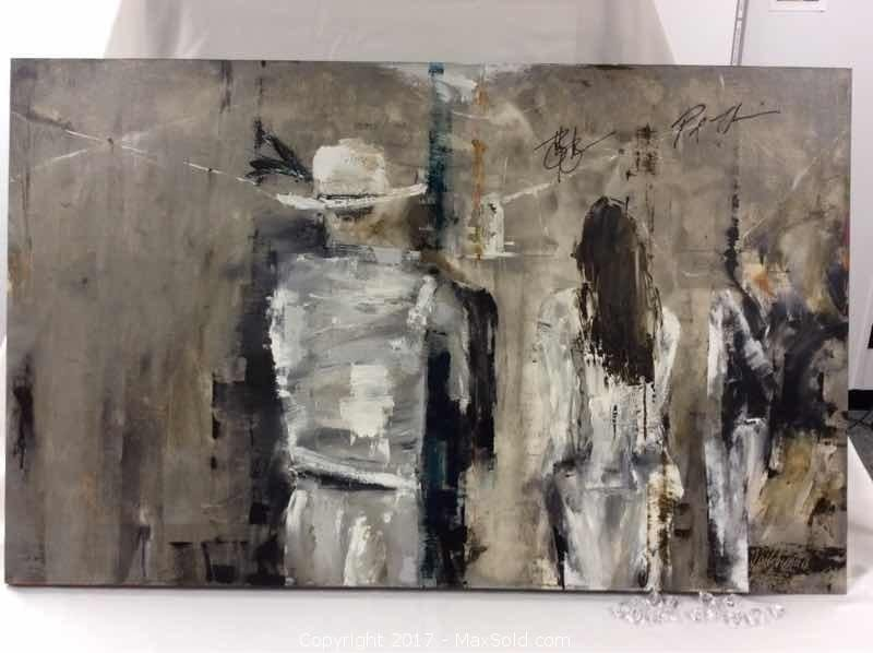 """Tragically Hip Painting """"Backstage"""""""