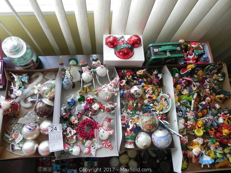 Xmas Ornaments, Disney And More