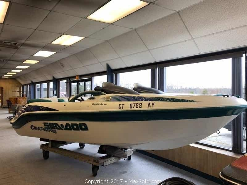 Sea Doo 1998 Boat Hull identification number: CECAO415B898