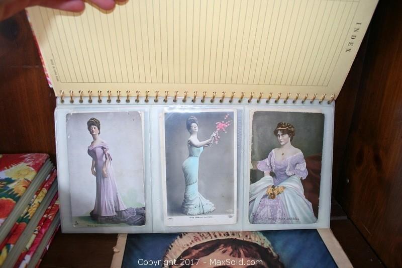 Antique Postcards And Vintage Magazines