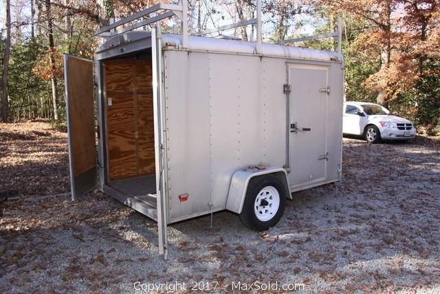 Haulmark Single Axel Utility Trailer