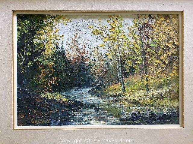 "James Keirstead Original 18"" X 26 1/2"""