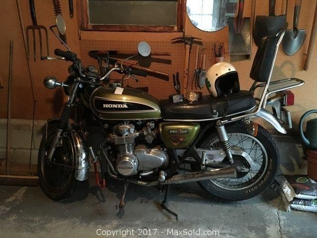 1975 Honda CB550 Motorcycle
