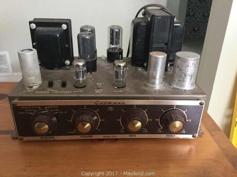 Vintage Grommes Tuner / Amp