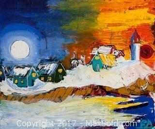 """""The World Needs More Canada"""" - Evan Sharma Painting"