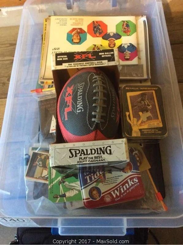 Sport Collectors Items