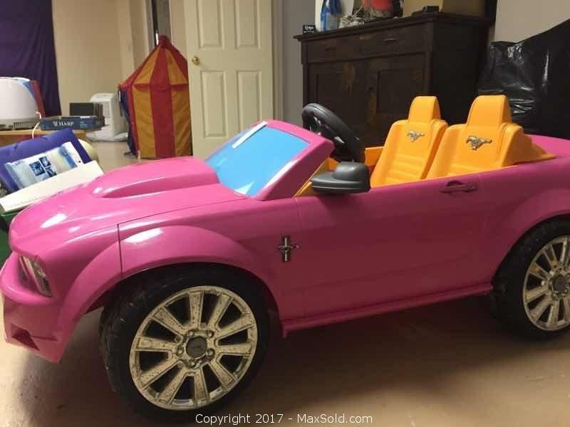 Fisher Price Power Wheels Battery Car